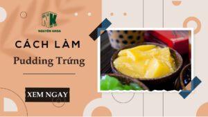 ANH BIA pudding trung